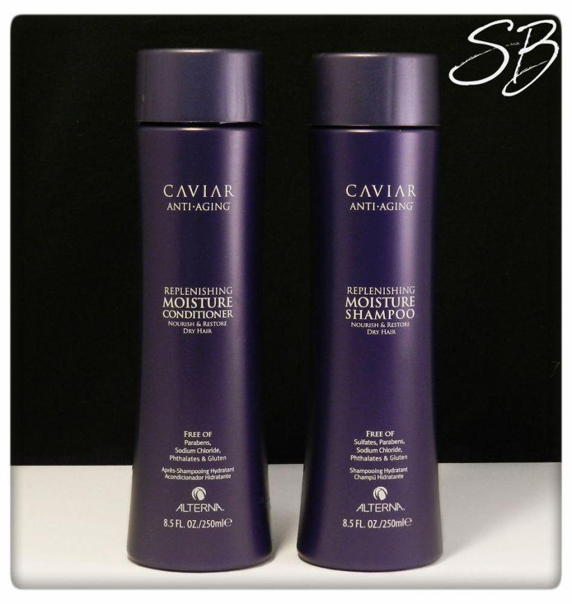 Caviar shampoo and conditioner